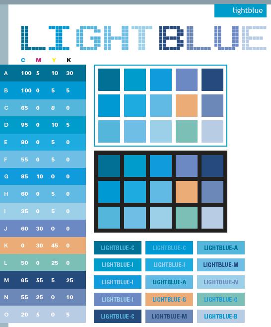 Light Blue Color Scheme